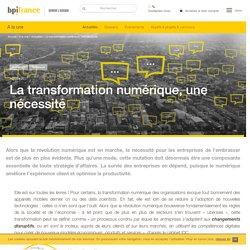 La transformation numérique, une nécessité