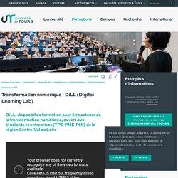 Transformation numérique - DiLL (Digital Learning Lab)