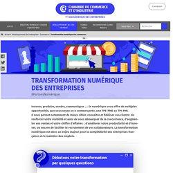 Transformation numérique des commerces