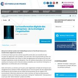 La transformation digitale des entreprises : de la stratégie à l'organisation