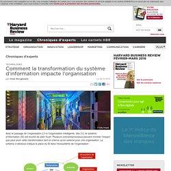 Comment la transformation du système d'information impacte l'organisation