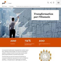Transformation des organisations et des ressources humaines