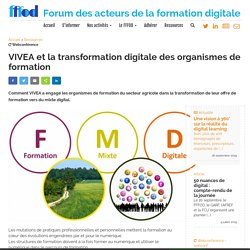 VIVEA et la transformation digitale des organismes de formation