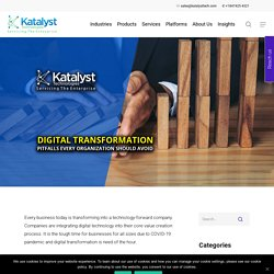 Digital Transformation: Pitfalls Every Organization Should Avoid - Katalyst Technologies