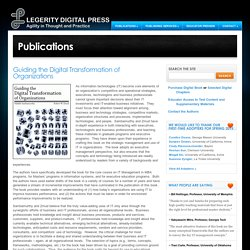 Guiding the Digital Transformation of Organizations « Legerity Digital Press