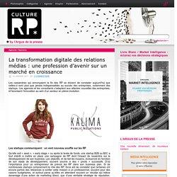 La transformation digitale des relations médias : une profession d'avenir sur un marché en croissance