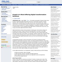 Propel-U-4-Ward Offering Digital transformation Solutions