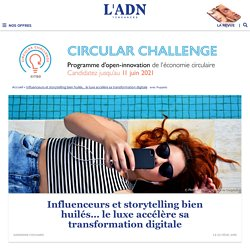 Luxe et transformation digitale : entre réseaux sociaux et storytelling