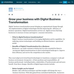 Grow your business with Digital Business Transformation: t24corebankin