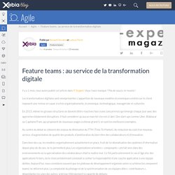 Feature teams et transformation digitale