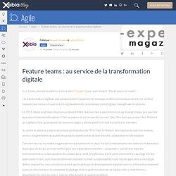 Feature teams et transformation digitale