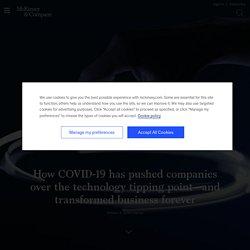 COVID-19 digital transformation & technology