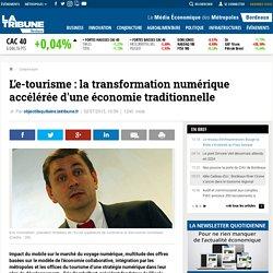 L'e-tourisme : la transformation numérique accélérée d'une économie traditionnelle