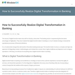 Digital Transformation in Banking [Ultimate Guide]