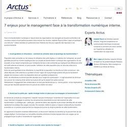 Eclaireur en e-transformation7 enjeux pour les managers face à la transformation numérique