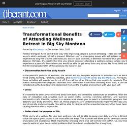 Transformational Benefits of Attending Wellness Retreat in Big Sky Montana