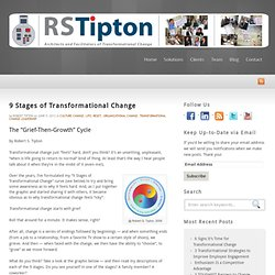 Robert S. Tipton, Transformational Change Keynote Speaker, 9 Stages of Transformational Change