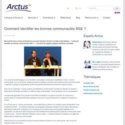 Arctus » Eclaireur en e-transformationBlog Arctus - Comment identifier les bonnes communautés RSE