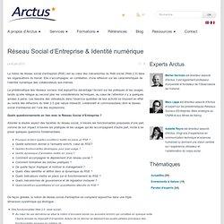 Réseau Social d'Entreprise & Identité numérique
