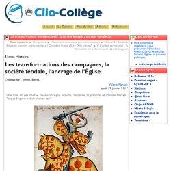 Les transformations des campagnes, ... - Clio-Collège