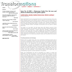 TRANSFORMATIONS Journal of Media & Culture