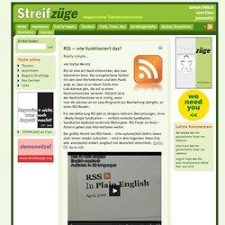 RSS — wie funktioniert das? - Streifzüge - Magazinierte Transformationslust