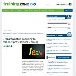 aching: transformative approach