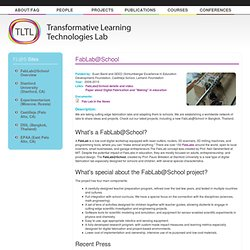 Transformative Learning Technologies Lab