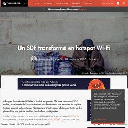 Un SDF transformé en hotspot Wi-Fi - Business - Numerama