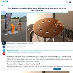 Recyclage des mégots : Mégo! transforme les cigarettes en mobilier