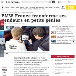 BMW France transforme ses vendeurs en petits génies, Relation client : internet et magasin sont complémentaires