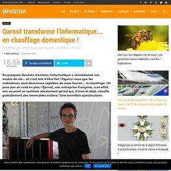Qarnot transforme l'informatique... en chauffage domestique !