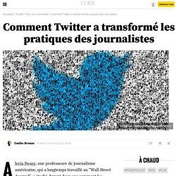 Comment Twitter a transformé les pratiques des journalistes