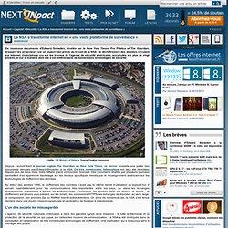 La NSA a transformé internet en « une vaste plateforme de surveillance »