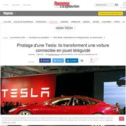 Piratage d'une Tesla: ils transforment une voiture connectée en jouet téléguidé