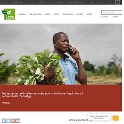 Des systèmes de données agricoles pour transformer l'agriculture à petite échelle (Data4Ag)