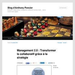 Management 2.0 : Transformer le collaboratif grâce à la stratégie