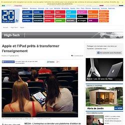 Apple et l'iPad prêts à transformer l'enseignement