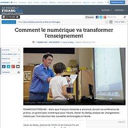 Comment le numérique va transformer l'enseignement