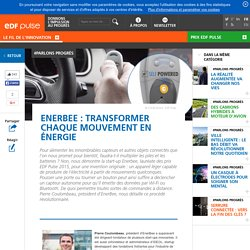 EnerBee : transformer chaque mouvement en énergie