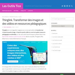 Thinglink. Transformer des images et des vidéos en ressources pédagogiques