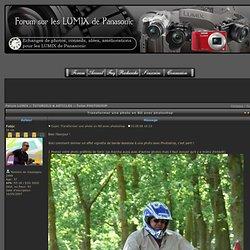 Transformer une photo en BD avec photoshop