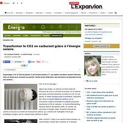 Transformer le CO2 en carburant grâce à l'énergie solaire