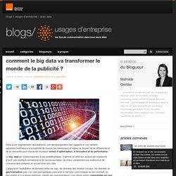 comment le big data va transformer le monde de la publicité