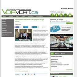 Transformer des résidus de yogourt en gaz naturel
