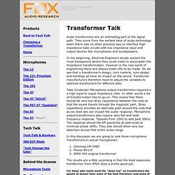 Transformer Talk
