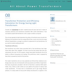 Know more about energy saving light transformers