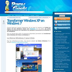 TRANSFORMER WINDOWS XP EN WINDOWS 7