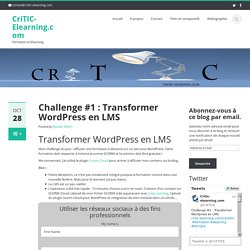 Transformer Wordpress en LMS