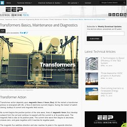 Transformers Basics, Maintenance and Diagnostics